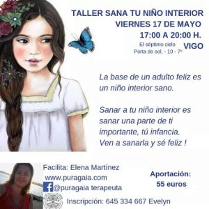 """Taller presencial """"Sana tu niño interior"""" en Vigo @ El Séptimo Cielo"""