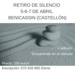 Retiro de Silencio en Benicasim